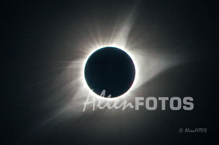 The Great American Eclipse – Enhanced version of the corona