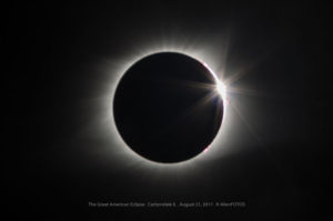 The Great American Eclipse – Baily's Beads & Diamond ring
